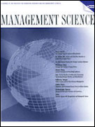 Management Science cover